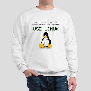 Use Linux Sweatshirt