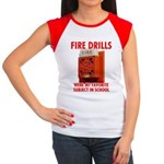 Fire Drills Women's Cap Sleeve T-Shirt
