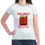 Fire Drills Jr. Ringer T-Shirt