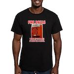 Fire Drills Men's Fitted T-Shirt (dark)
