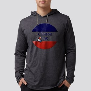 35Button_Clinton08 Mens Hooded Shirt