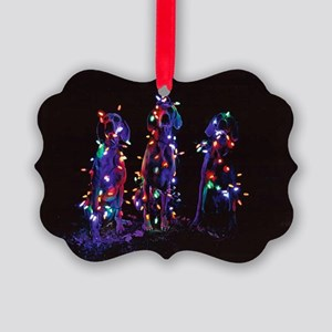 Save The Trees Picture Ornament