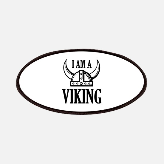 I AM A VIKING Patches