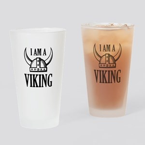 I AM A VIKING Drinking Glass