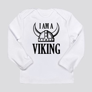 I AM A VIKING Long Sleeve Infant T-Shirt