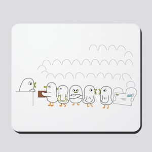 Post Office at Holiday Season Mousepad