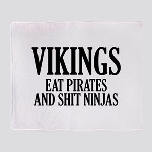 Vikings eat Pirates and shit Ninjas Stadium Blank