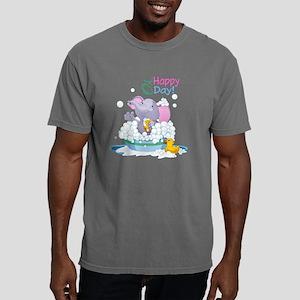 Happy Elephant Mens Comfort Colors Shirt