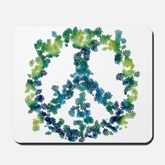 Meditation Flower Peace Mousepad