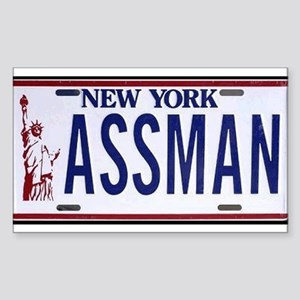 Assman Rectangle Sticker