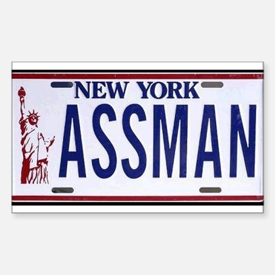 Assman Rectangle Decal