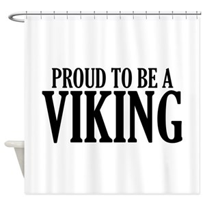 Viking Ship Shower Curtains
