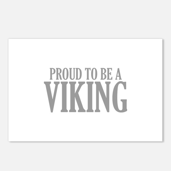 Proud To Be A Viking Postcards (Package of 8)