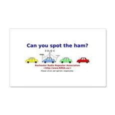 Can you spot the ham? Wall Decal