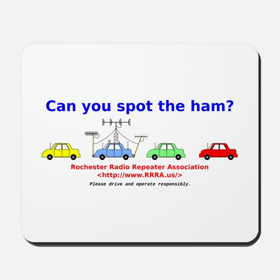 Can you spot the ham? Mousepad
