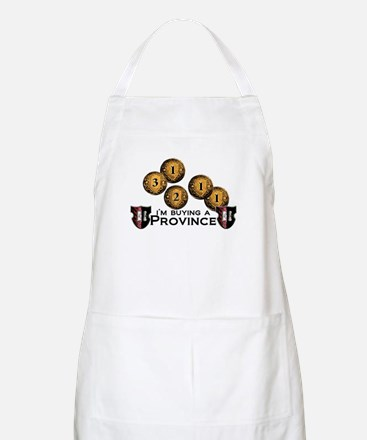 I'm buying a province. Apron