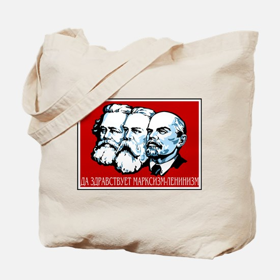 Marx, Engels, Lenin Tote Bag