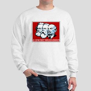 Marx, Engels, Lenin Sweatshirt