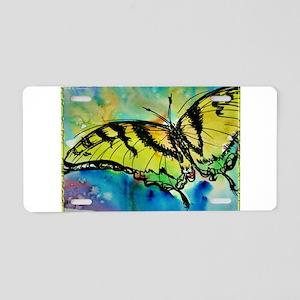 Butterfly Swallowtail butterfly art! Aluminum Lice