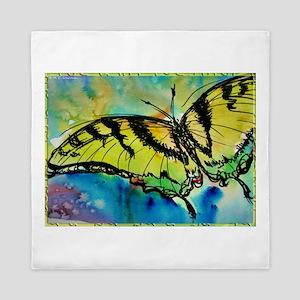Butterfly Swallowtail butterfly art! Queen Duvet