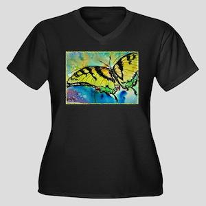 Butterfly Swallowtail butterfly art! Women's Plus