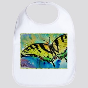 Butterfly Swallowtail butterfly art! Bib