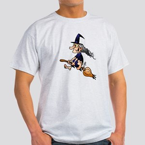 Witch on a broom Light T-Shirt