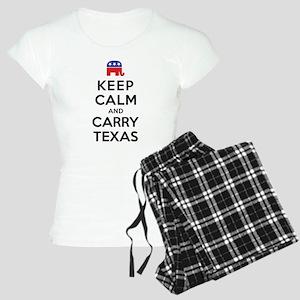 Keep Calm and Carry Texas Republican Women's Light