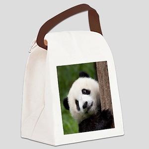 Panda Cub Canvas Lunch Bag