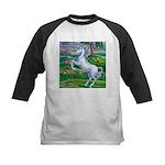 Unicorn Kingdom Kids Baseball Jersey