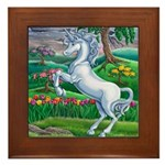 Unicorn Kingdom Framed Tile