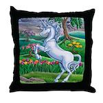 Unicorn Kingdom Throw Pillow