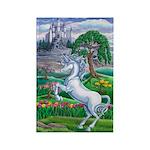 Unicorn Kingdom Rectangle Magnet (10 pack)