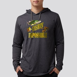 fishin impossible t Mens Hooded Shirt