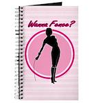 Wanna Fence? Blank Journal