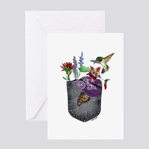 Pocket Wildflowers Greeting Card