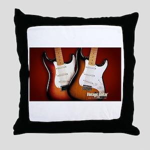 epic guitars Throw Pillow