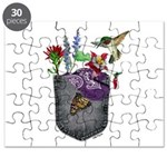 Pocket Wildflowers Puzzle