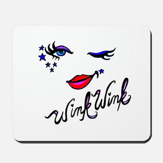 Wink Wink Mousepad