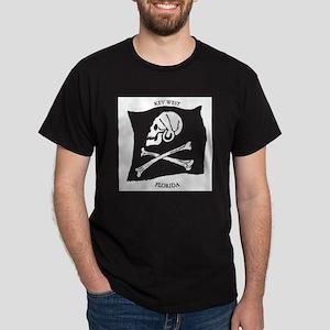 Key West Jolly Roger Dark T-Shirt