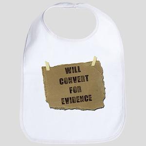 Will Convert For Evidence Bib
