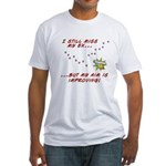 Still Miss My Ex..m is Improving Fitted T-Shirt