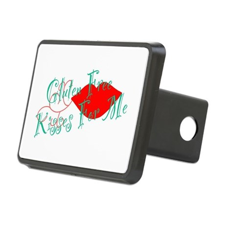 Gluten Free Kisses For Me Rectangular Hitch Cover