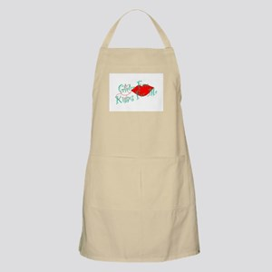 Gluten Free Kisses For Me Apron