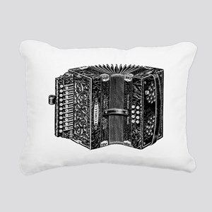 Vintage Accordion Rectangular Canvas Pillow