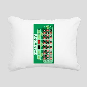 Roulette Rectangular Canvas Pillow