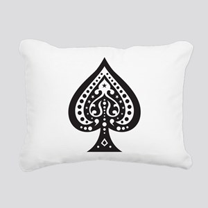 Spade Rectangular Canvas Pillow