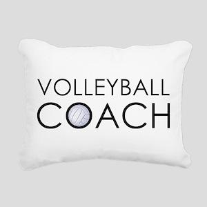 Volleyball Coach Rectangular Canvas Pillow