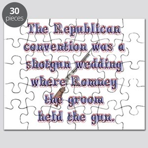 Romneys Shotgun Wedding Puzzle