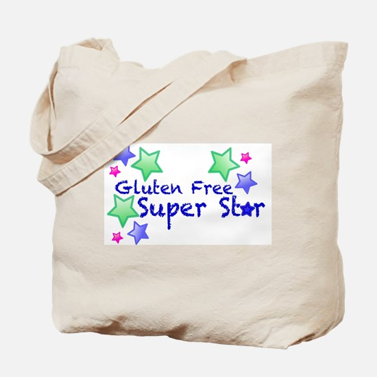 Gluten Free Super Star Tote Bag